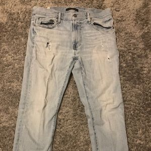 ABERCROMBIE AND FITCH BLUE JEANS MENS